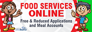 food services online, free and reduced applications and meal accounts, TUSD